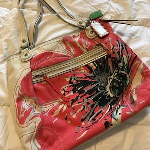 Coach Tote Poppy collection